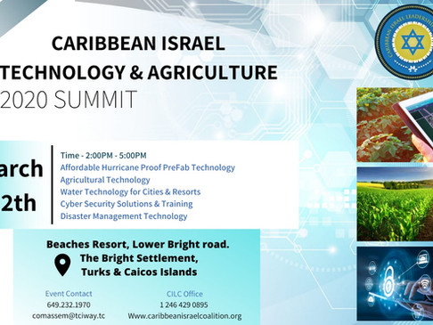 Caribbean Israel Technology & Agriculture Summit 2020