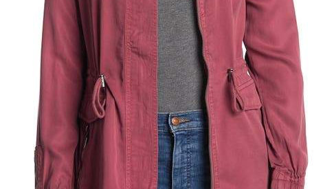 MAX JEANS Utility Jacket Pink Large
