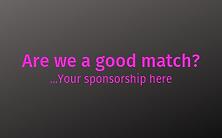 Sponsrship opportunity