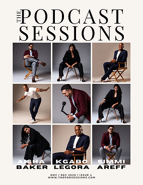 PNG S Magazine Cover The Podcast Session