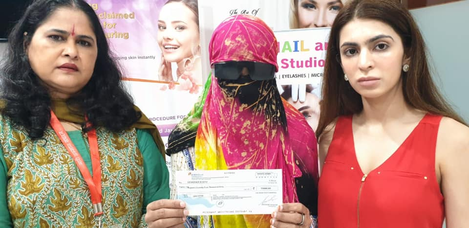 Shaivani of Patna is given full financial support for Acid Attack Surgery at Designer Bodyz
