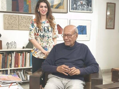 JYOTI BHATT discusses his life and works with Aashna Abrol