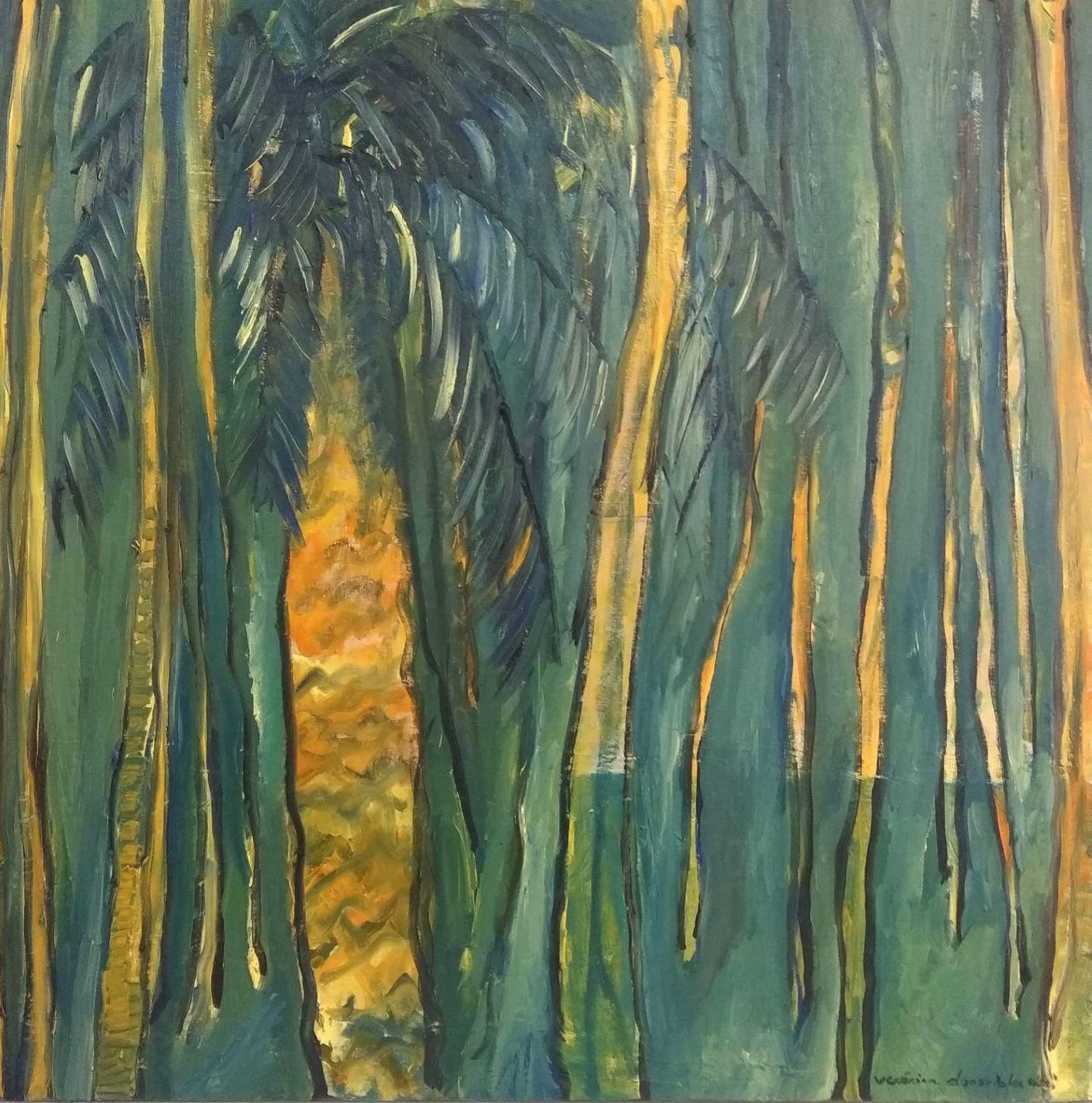 Jungle with palm_VeronicaAlonsodelosRios