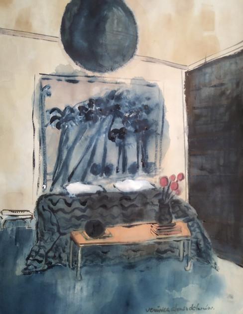 Ronquino Blue room with black door.jpg