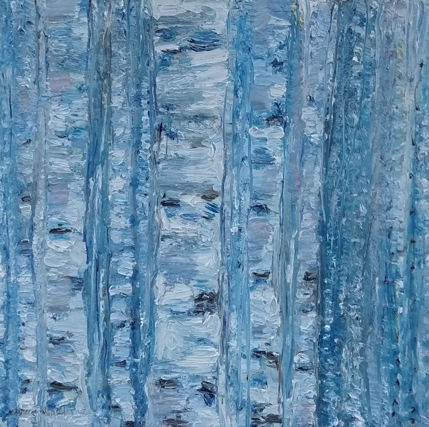 Blue birches II_VeronicaAlonsodelosRios.
