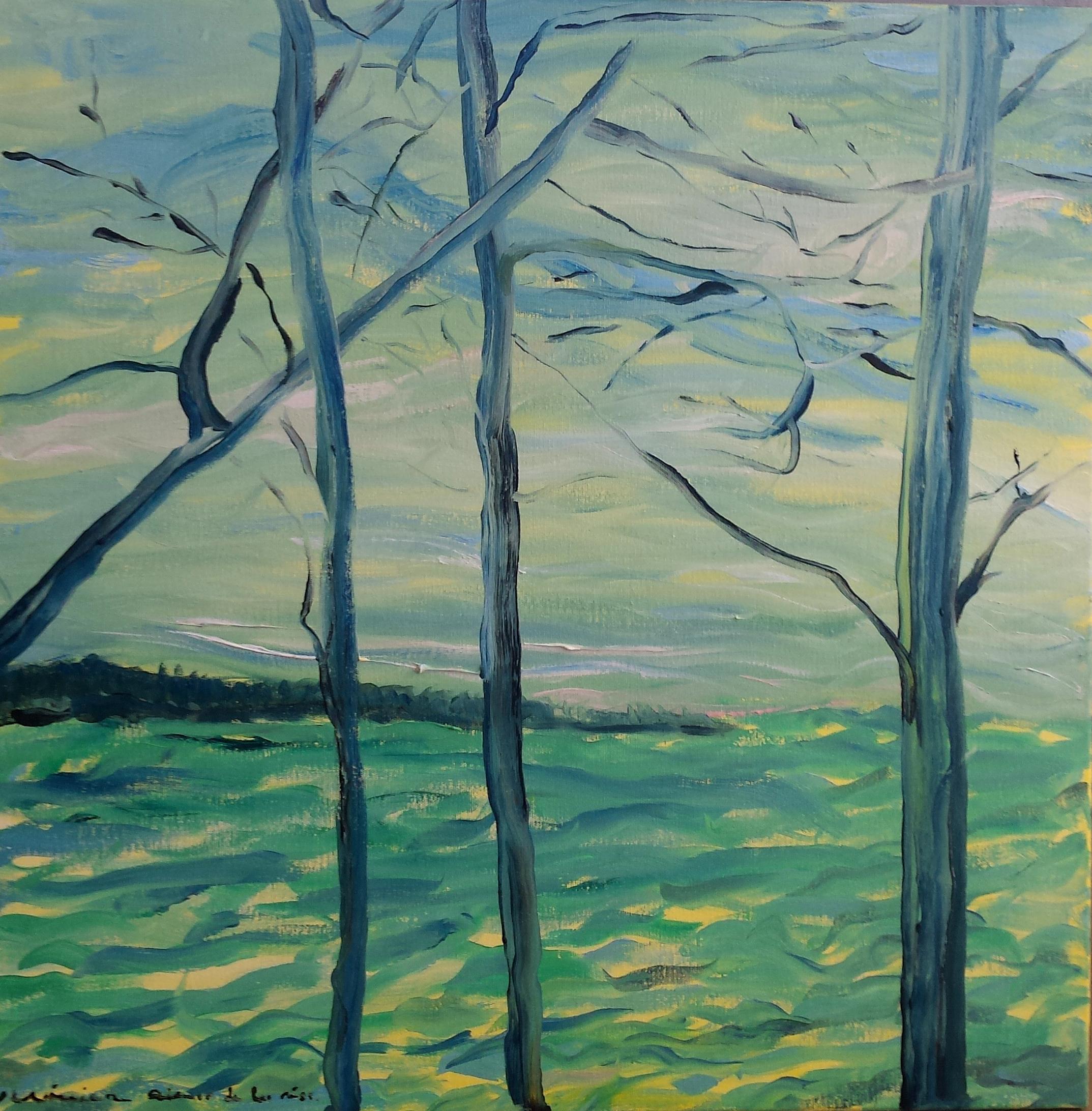 Veronica Alonso de los Rios-Lake trees v