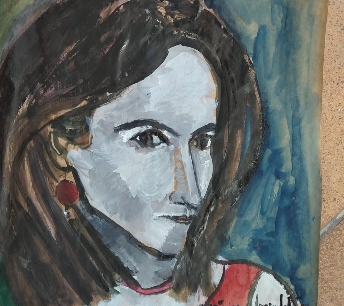 Self portrait_VeronicaAlonsodelosRios