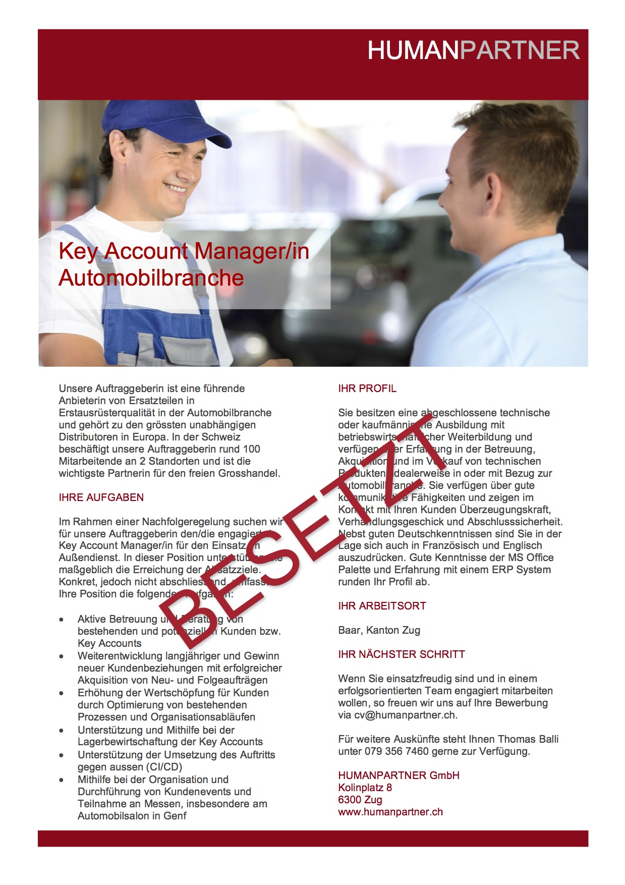 Key Account ManagerIn