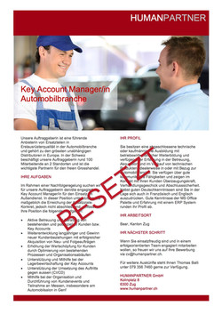 Key Account ManagerIn