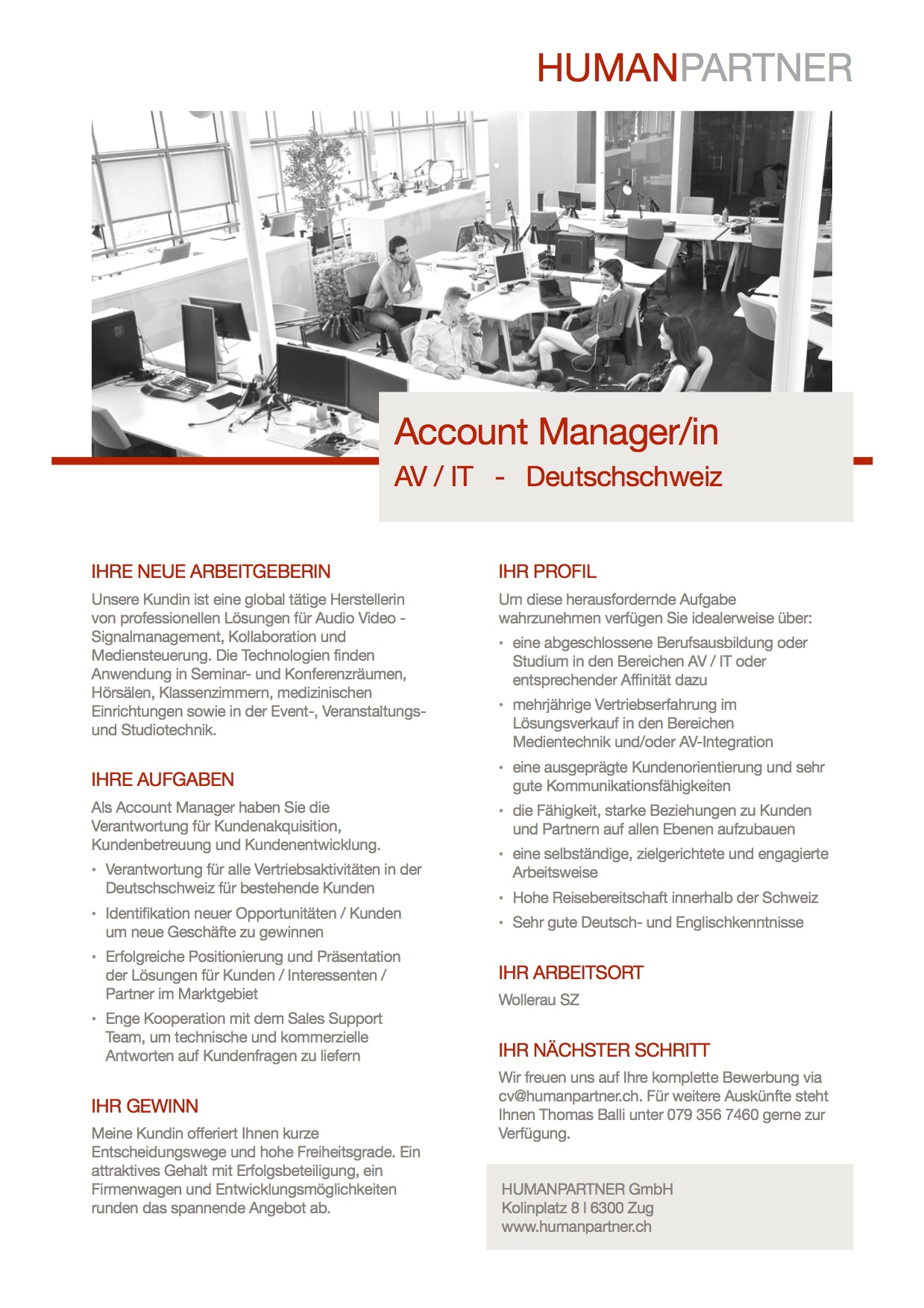 Account Manager_in AV IT - 2018