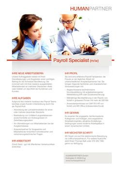 Payroll Specialist - 2019