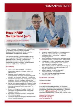 E - Head HRBP V3