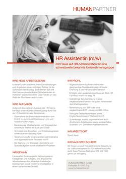 HR Assistenz - 2019