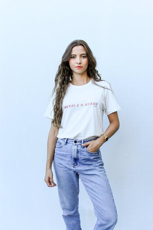 camiseta minas é o mundo