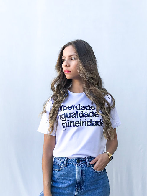 camiseta mineiridade branca