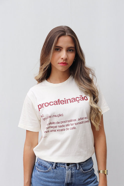 camiseta procafeinação