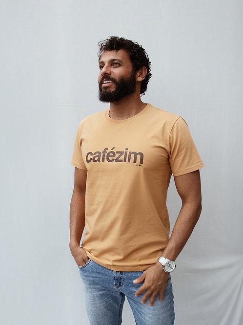 camiseta cafézim caramelo