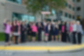 2016 Board of Directors: Jodie Gray, Claudia Boldyga, Elizabeth DeCesaris, Biana Arentz, Lynne Kinney, Karen White, Monica Rutherford, and Christina Cugle.
