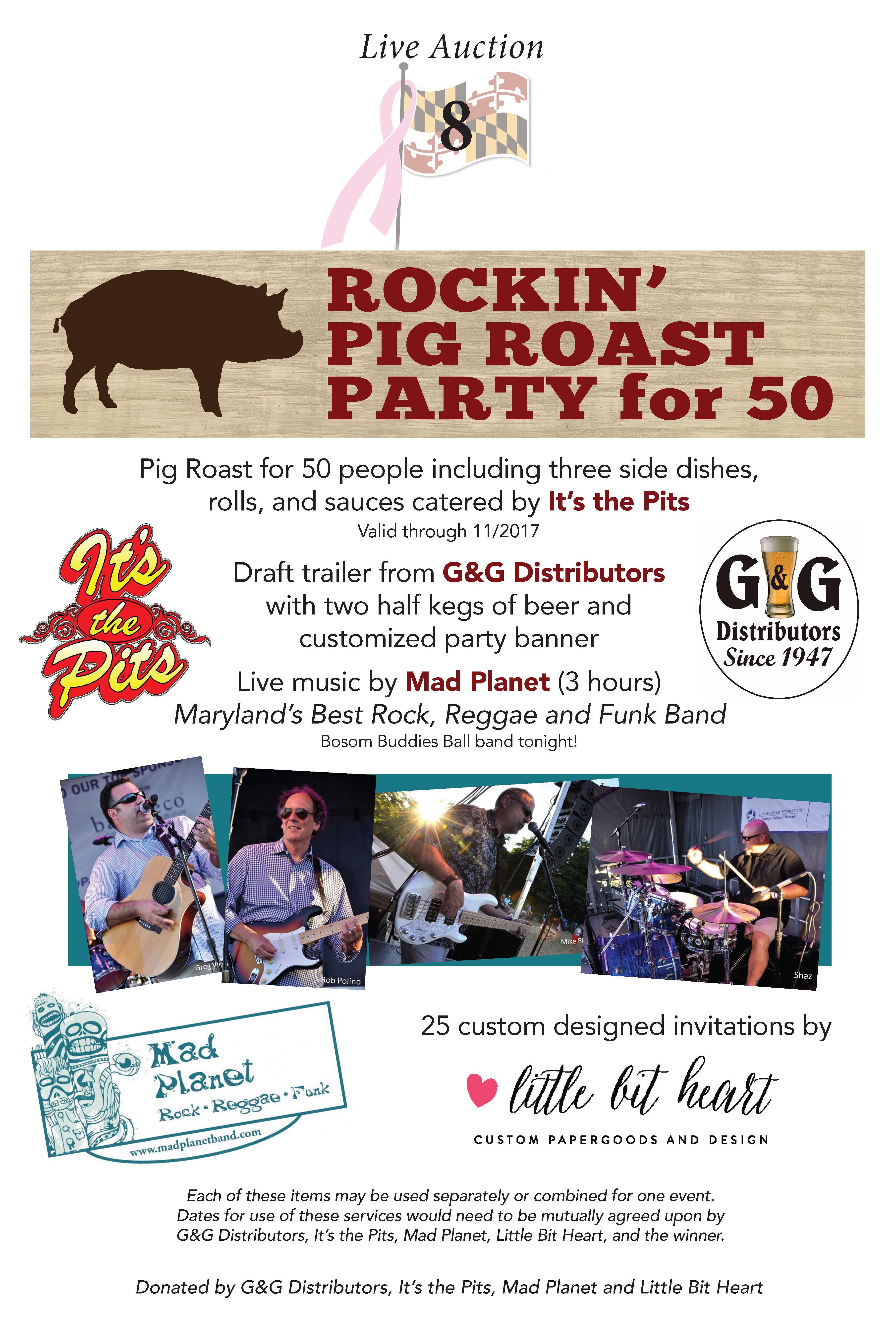Rockin' Pig Roast Party