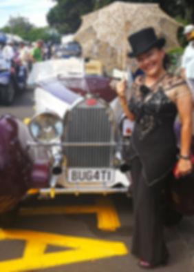 Art Deco Festival, Bugati, Vintage car