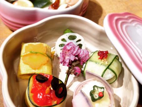 【再掲】野菜の手毬寿司ワークショップ