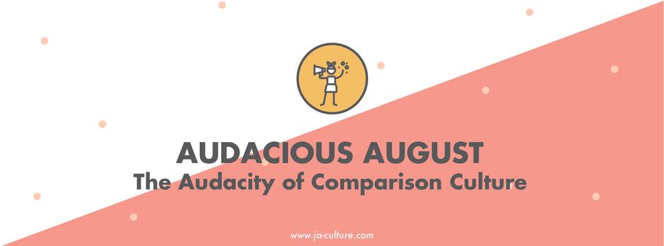 The Audacity of Comparison Culture