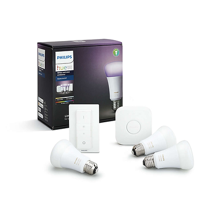Philips Hue White & Colour Ambiance Starter Kit