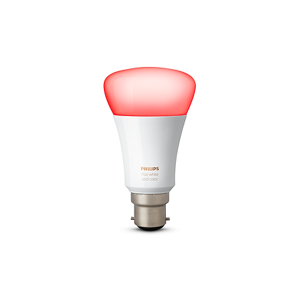 Philips Hue White & Colour Ambiance Single Bulb B22