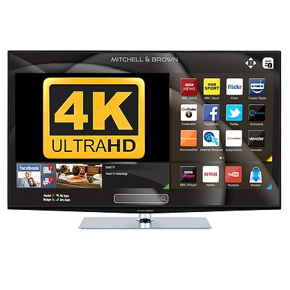 "Mitchell & Brown 43"" 4K Smart TV"