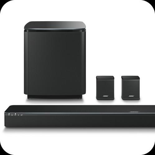 bose 300 soundbar. bose soundtouch 300 soundbar. acoustimass wireless bass module. virtually invisible surround speakers soundbar