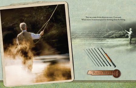 March Brown Fly Rods