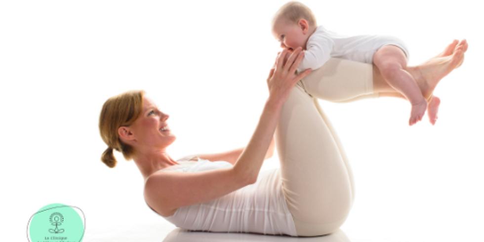 Yoga postnatal - Douceur pour le corps et lâcher prise du mental