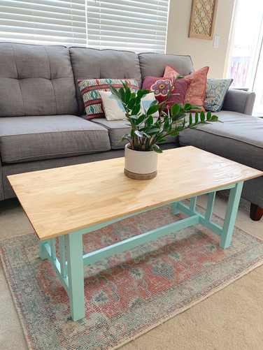 Refurbished Modern Table