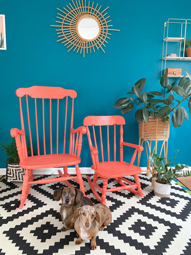 Refurbished Rocking Chairs - Mommy + Me