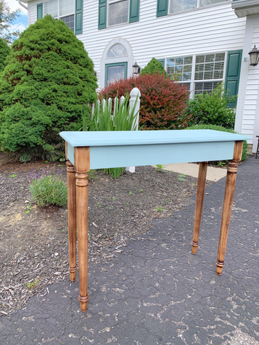 Refurbished Chalk Paint Console Table