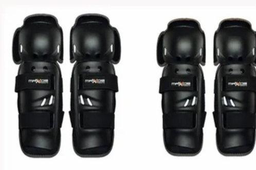 Kit proteção (cotoveleira/joelheira) Mattos Racing MX (tamanho único)