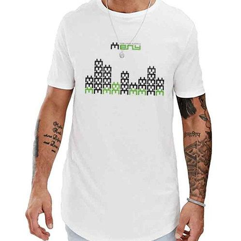 T-Shirt longline Meny City