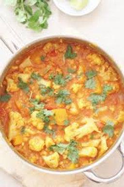 Vegan Cauliflower Curry - Batch of 4 Portions