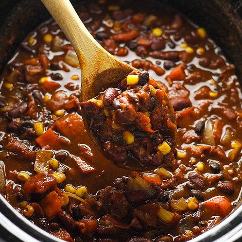 Vegan Chili - Batch of 4 Portions