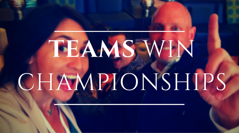 Teams Win Championships - Business Coach