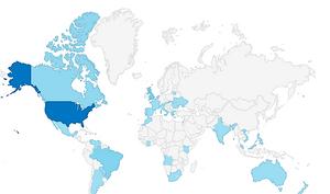 Silvica Rosca Global Impact Map
