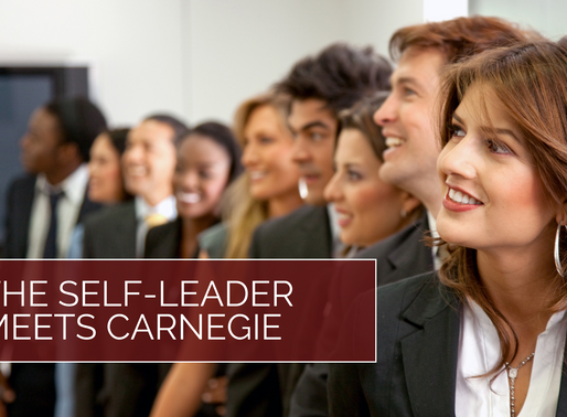How to Influence Others: The Self-Leader Meets Carnegie