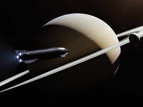 SPACEX's MEGA-ROCKET TO TRAVEL TO MOON, MARS AND ANYWHERE ON EARTH