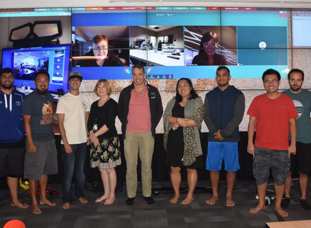 CyberCanoe Provides Forum for Hawaiians to Collaborate on Tiled Displays and SAGE2™