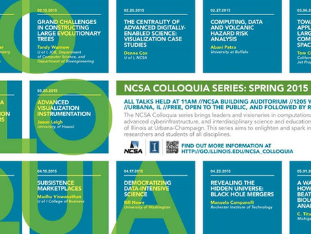 Jason Leigh to Deliver Colloquium Presentation on Advanced Visualization Instrumentation at the NCSA