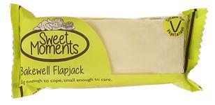 bakewell flapjack slice