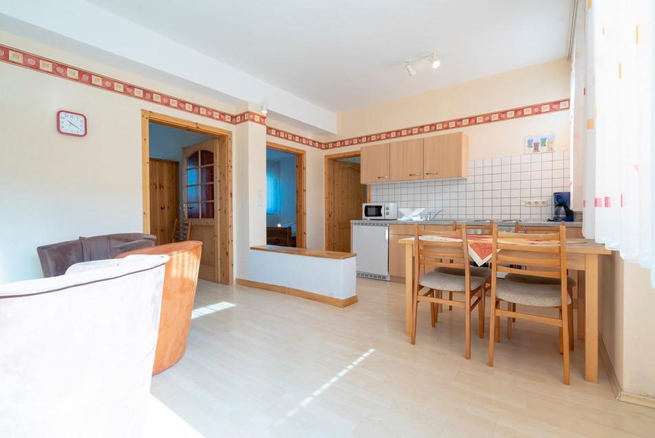 Wohnzimmer / Küche / Esszimmer