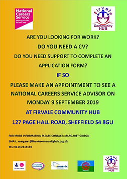 MOnday9 Sept  appointments poster for em