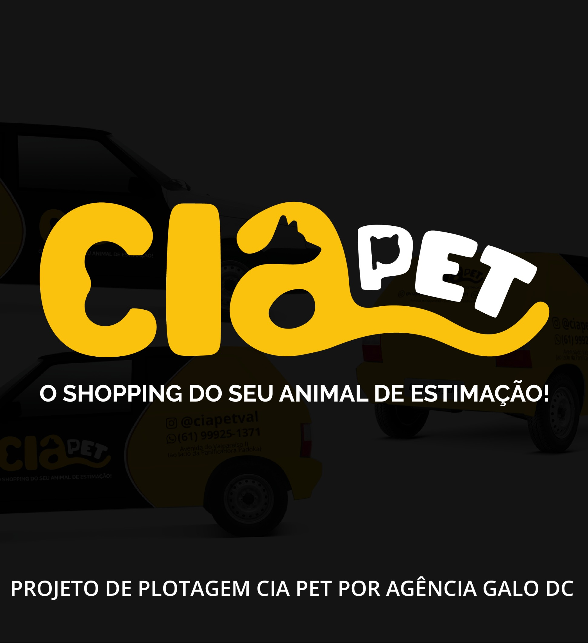 CRIAÇÃO DE LOGO - CIA PET