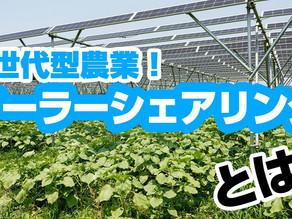 アースデイちゃんねる#12 公開!「次世代型農業!ソーラーシェアリング」